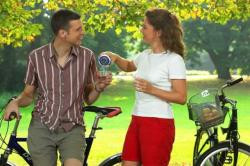 Tee Saft Trinken Radfahren Sport Fahrrad