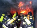 firefighters during their job.
