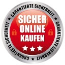 Sicher Online Kaufen - Garantierte Sicherheit - rot