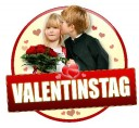 Valentinstags Button mit Kindern